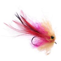 1pc 1 g 10cm trucha arco iris Salmón Pike Streamer Fly para Fly Equipos de pesca cebo artificial Lure