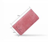 Purses Women Matte PU Leather Wallets lady hand coin Purse C...