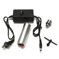 Бесплатная доставка 1 комплект 6V-24V мини электрическая ручная дрель DIY 385 DC мотор ж/ JT0 патрон 24V питания лучшее продвижение