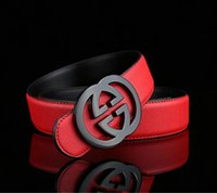 Hot Women Men Leather Belt Famous Designer Belts Classic Uni...