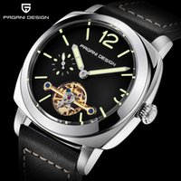 PAGANI Brands Fashion Casual Business Men watch Automatic wr...