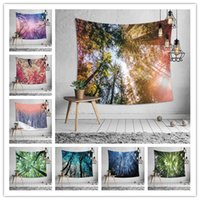 Jungle series wall hanging tapestry 8 design multifunction b...