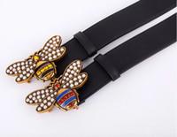 2018 nouvelle mode femme et homme ceintures design célèbre bee ceintures  ceinture célèbre marque 105cm- f1d71870701