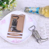 Creative Bottle Opener Hitched Cowboy Boot Western Birthday ...