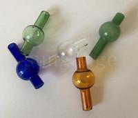 La più nuova cupola di palla rotonda del cappuccio del carburatore della bolla di vetro colorata universale per i tubi di acqua di vetro, XL spessa Quartz banger termico Nails dsfd