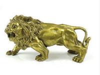 Statua di ottone agradabile estatuilla León 5.5 '' (pulgadas)
