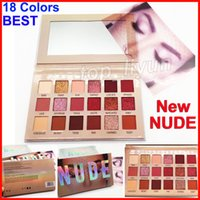 I più nuovi 18 colori new nude eyeshadow makeup beauty eyes shadow Shimmer matte Eyeshadow Palette 18 colori Brand Cosmetics