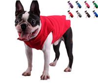 Spedizione gratuita pet dog puppy cat morbido comfort esterno in pile caldo cappotto invernale abbigliamento gilet sei colori