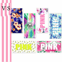 PINK Beach Towel 35*75cm Victoria Flamingos Powder Naughty L...