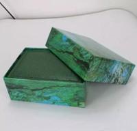 Fornecedor da fábrica de Luxo Verde Com Caixa Original Caixa De Relógio De Madeira Papers Carteira CartãoCaixasCases de Relógio de Pulso Caixa de papéis 01
