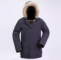 d81c942f 2019 Latest Fashion Men's Arctic Anorak Down jackets Man Winter goose down  jacket 90% Outdoor Thick Parka Coat warm outwear