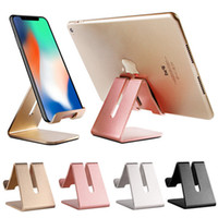 Universal Mobile Phone Tablet Desk Holder Luxury Aluminum Me...