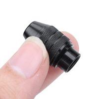 عالمي متعدد بدون مفتاح تشاك مصغرة حفر تشاك بدون مفتاح لكل الحفر أداة الروتاري المطحنة 0.3-3.2mm