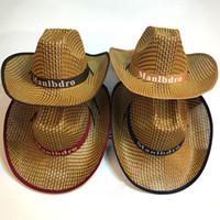 Vogue Men Women Straw Artículo Trenzado Sombreros de paja Soft Fedora  Panama Sombreros Outdoor Stingy Brim 53ecbb6d417