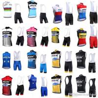 ccaf18ea1 QUICK STEP equipe Ciclismo Sem Mangas jersey Colete (babador) shorts define  nova fina Respirável