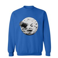 A Trip To The Moon Men' s Sweatshirts Autumn Cool Hoodie...