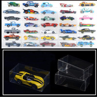 8.2*4.3*4.1 см ПВХ прозрачный пыли доказательство дисплей защиты коробка коллекция спичечный коробок для 1: 64 Hotwheels TOMY игрушка модель автомобиля