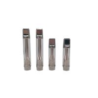 AC1003 Cartuccia di ceramica Pyrex Glass Vaporizzatore Metallo Drip Tip 510 Threat atomizzatore Serbatoio Wickless per batterie 510 Vape