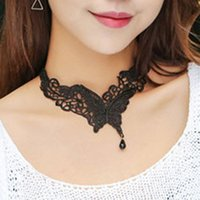 Pretty Butterfly Lace Collar Exquisite Necklace Lovely 2017 ...