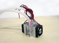 Freeshipping Kit fai da te Freeshipping Termoelettrico Peltier Sistema di raffreddamento del sistema di raffreddamento ad acqua + Ventola + 2PCS TEC1-12706 Refrigeratori