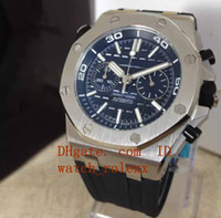 Mens luxury Jh N8 factory Miyota with smooth sweeping flybac...