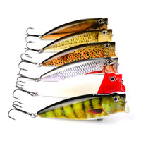 Sürükle Su Sıçrama Yüzer Hit Popper Yüzme yem kaçan veya yaralı yem balığı 9.5 cm 16.3g Büyük ağız Gerçekçi yapay balık yem