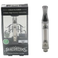 New Heavy Hitters Vape Cartridges 1. 0ml Ceramic Coil Empty T...