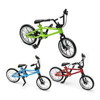 Novelty Alloy finger bikes Strange new desktop toys finger b...