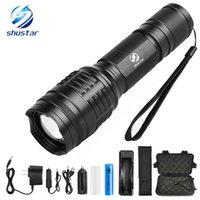 Shustar Powerful LED flashlight XML- T6 L2 8000 Lumens torch ...
