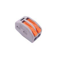 Mini Hızlı WAGO 222-412 413 415 PCT212 213 Evrensel Kompakt Tel Kablo Konnektör İletken Terminal Bloğu