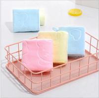 1usd / pc شحن مجاني الأطفال منشفة غسل منشفة تلميع تجفيف الملابس