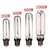 Coltiva la luce HPS lampada E40 250W / 400W / 600W / 1000W fiore lampadina ad alta pressione di fiori Fiori vegetali pianta coltiva la lampada per zavorra