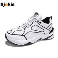 sports shoes a7961 c00f4 Bjakin Negro Blanco Zapatillas de running Para Hombres Zapatillas de  deporte para caminar al aire libre