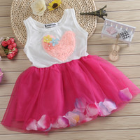 Baby Tutu Dress Baby Girl Love dress Fashion Girls 2018 Kids...