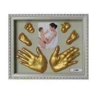 Novelty 3D Plaster Handprint Footprint Baby Mould Party Supp...