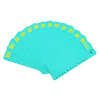 تخصيص بطاقة الرموش مع الشعار الخاص أو مراوح التسميات ذات الحجم الكبير
