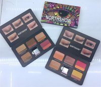Dorpshipping NEW Brand Makeup NORTHSHOW double color Eyeshad...