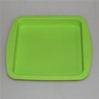 """Vassoio in silicone in silicone Food Silicone Cera Piatto profondo Pan Square Forma quadrata 8 """"X8"""" Concentrato di silicone Concentrato del silicone DHL"""