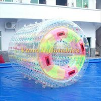 المياه ووكر التجاري PVC نفخ بكرة الماء رول الكرة Zorbing بركة ألعاب 2.2M 2.4M 2.6M 3M مع مضخة شحن مجاني
