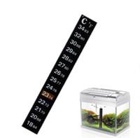 Termômetro Carboy Fermentador Homebrew Cerveja Tanque Temperatura Adesivo Adesivo Sticky Scale Aquarium Fish vara LCD thermomete SN1156