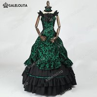 2018 Brand New Southern Belle Old West Masquerade Gown Victo...