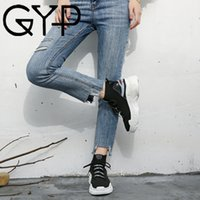 GYP 2018 Winter Running Shoes For Women High Top Sneakers Fa...