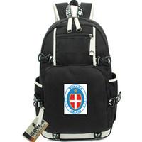 Верхний рюкзак Novara Calcio day pack Италия Футбольный клуб школьная сумка Футбольный рюкзак Рюкзак для ноутбука Спортивный школьный рюкзак