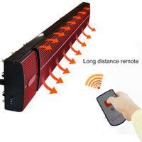 envío gratis calentador radiante infrarrojo JH-NR24-13A negro JHCCOL 2400W calentador eléctrico para sala de estar, cafeterías, YOGA, baño, hall, hotel