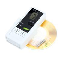 Freeshipping mini beweglicher USB LCD Digital Temperatur-Messinstrument-Feuchtigkeits-Protokollierer-Thermometer-Hygrometer PC, der Datenaufzeichnung anschließt