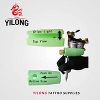 Prese per tatuaggio di alta qualità YILONG Copertine professionali in silicone per manopole Set di fornitura per mitragliatrice Tattoo Body Art Spedizione gratuita