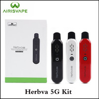 100% Authentic Airis Herbva 5G Kit Dry Herb Vaporizer Built-...