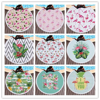 150cm Microfiber Round Beach Towel Thick Soft Super Absorbent Tassel Towels Flamingo Printing Beach Bath Towels Toallas 10 Designs