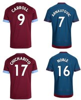 West Ham 2018 2019 home red soccer jersey thai quality footb...
