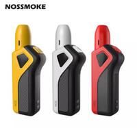 Authentisches NOSSMOKE NOS Premium Heizgerät 1100mAh Kompakte Größe mit ergonomischem Design E cig Starter Kit